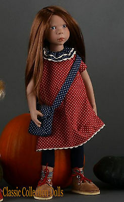 """""""avery"""" Junior Doll By Zwergnase- 2017 Collection - 20""""- New- In Stock Now!"""