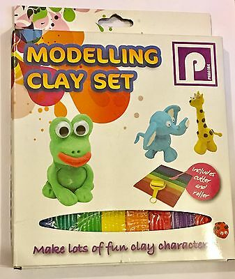 Play Modelling Clay Set For Kids, Perfect Gift For Children Ages 4+ (8 Strips)