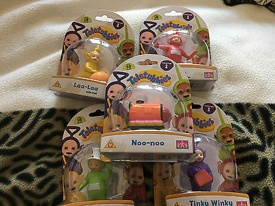 Teletubbies  complete  collection  one five figure set
