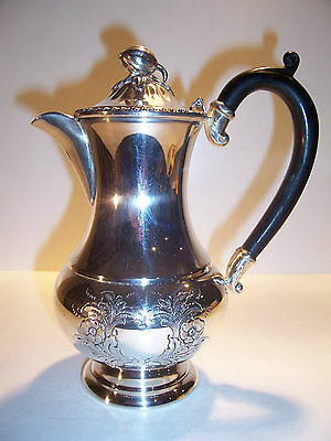 Antique Sliverplate Old English Reproduction Creamer Large Hand Chased