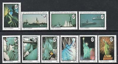 Gambia MNH 1987 The 100th Anniversary of Statue of Liberty (1986)