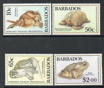 Barbados MNH 1989 Wildlife Preservation