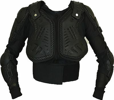 Kids Children Motocross Motorcycle Body Armour Protector Jacket