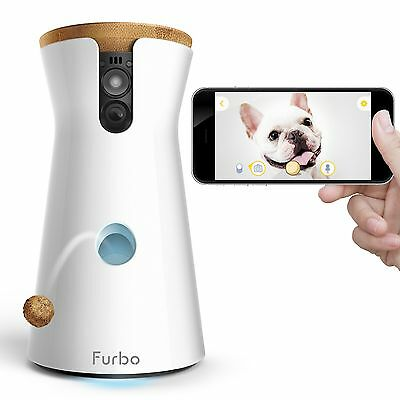 Furbo Dog Camera: Treat Tossing HD Wifi Cam and 2-Way Audio