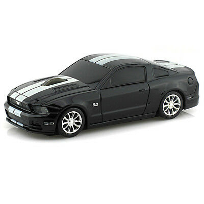 Official Ford Mustang GT Car Wireless Computer Mouse - Black