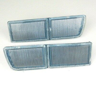 VW GOLF III MK3 / VENTO 91-99 Front Reflector Set Clear Unit Bumper Cover Pair