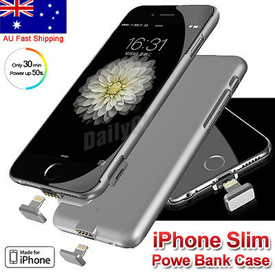 Portable Backup External Battery Charger Power bank Case for iPhone 6 7 Plus 8