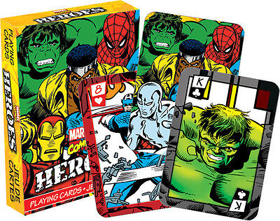 Marvel Heroes Comics Playing Cards Deck Misc