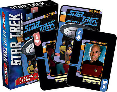 Star Trek Next Generation Playing Cards Deck Misc