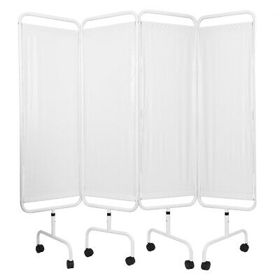 Viva Medi Economy Medical Privacy Screen - 4 Panel