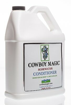 Cowboy Magic Rosewater Demineralizer Conditioner, 1 gallon refill