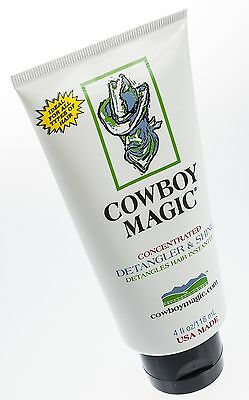 Cowboy Magic Detangler & Shine, 4 oz tube
