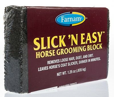 Slick n' Easy Horse Grooming Block
