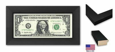 Business First Dollar Frame - Black Wood