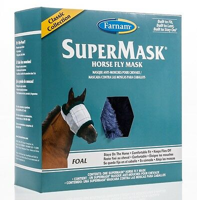 SuperMask II Horse Fly Mask, Classic Collection, Foal