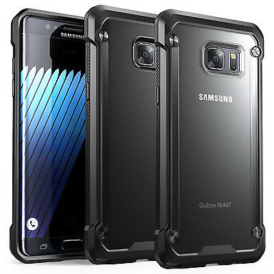 For Samsung Galaxy Note 5 S6 & S7 S8 S9 Plus Tough Bumper Hybrid Shockproof Case