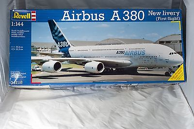 Revell Airbus A380 New Livery (First Flight) 1:144 Plastic Model Kit