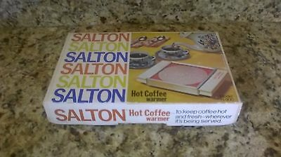 Vintage Salton Tabletop Hot Coffee Warmer Hot Plate Model H-900 FACTORY NEW NOS