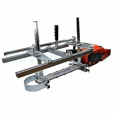 """Holzfforma Portable Chainsaw Mill Planking Milling From 14"""" to 24"""" Guide Bar"""