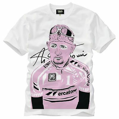 Stolen Goat Heroes Special Edition Marco Pantani Cycling T-Shirt/Tee - XL