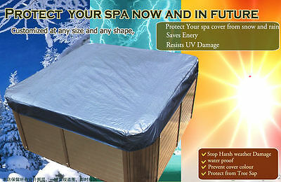 customize vary size 6f,-11f,12f hot tub cap,spa cover sun shield