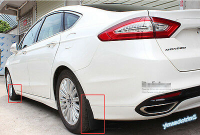 4 Pcs For Ford fusion Mondeo 2013-2016 Front + Rear Fenders Mud guards Flaps