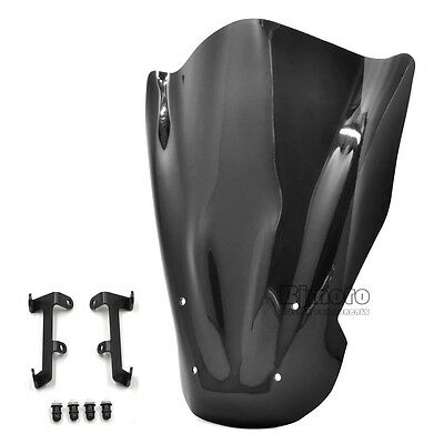 Motorcycle Windshield WindScreen Bracket For Yamaha MT07 2013-16 FZ07 2015-16