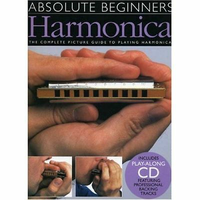 Learn How To Play Harmonica Beginners Sheet Music Book & Cd Blues Mouth Organ