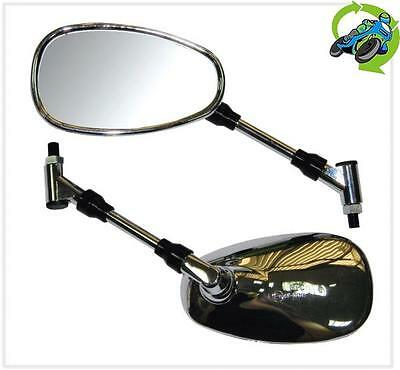 New Mirror Pair Left & Right Side Oe Spec Replacement Fits Yamaha Xjr1300 Mry009