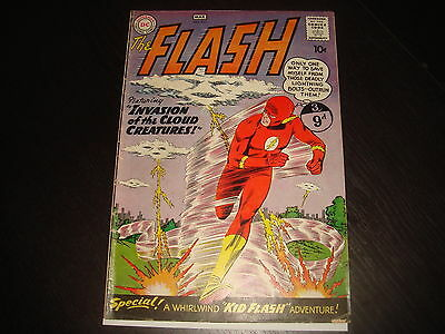 THE FLASH #111 2nd app. Kid Flash Silver Age  10c  DC Comics 1960 FN/FN-