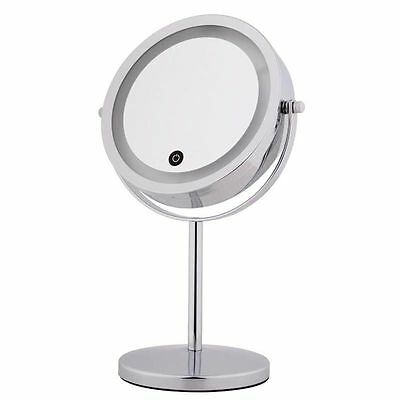 Touch 10x Magnifying LED Illuminated Bathroom Make Up Cosmetic Vanity Mirror New