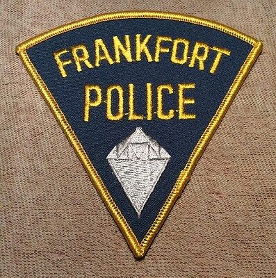 IN Frankfort Indiana Police Patch