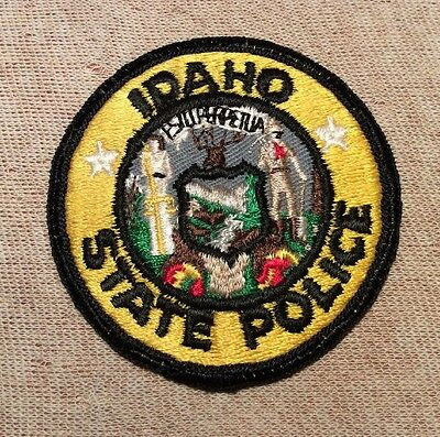 ID Vintage Idaho State Police Patch