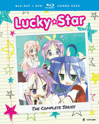 Lucky Star: The Complete Series + OVA [New Blu-ray] With DVD