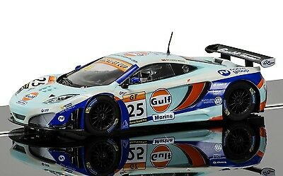 SCALEXTRIC 1:32 C3716 McLAREN 12C GT3 GULF NO.25 COLLECTOR CLUB EXCLUSIVE *NEW*