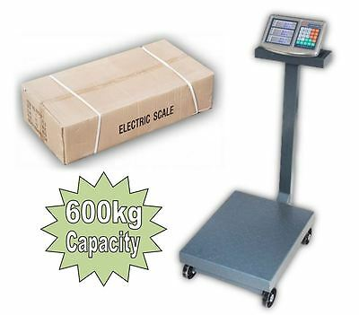 600kg Heavy Duty Industrial Commercial Warehouse Platform Digital Scale Stand