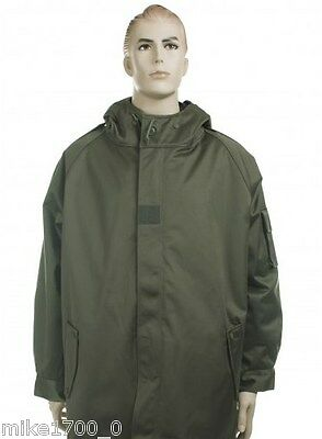 French microporous army jacket