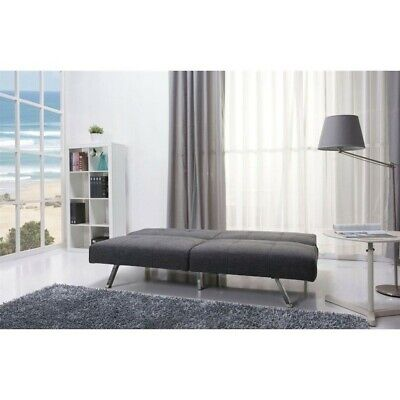 Gold Sparrow Victorville Fabric Convertible Sofa In Gray