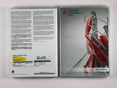 Autodesk AutoCAD LT 2016 Vollversion, deutsch - neue Box, SKU: 057H1-G25111-1001