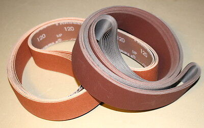 2 x 48 Sanding Belt Knifemaker Variety Kit Ceramic & A/O Flex  (12pc)