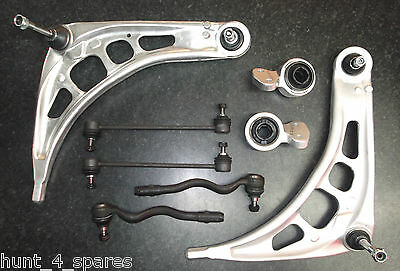 Bmw E46 Suspension Wishbones Arm Kit Mounting Bushes Track Rod Ends Drop Links