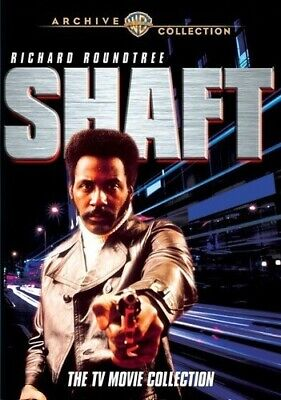 Shaft: The TV Movie Collection [4 Discs] DVD Region ALL DVD-R