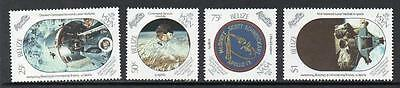 Belize MNH 1989 The 20th Anniversary of First Manned Landing on Moon