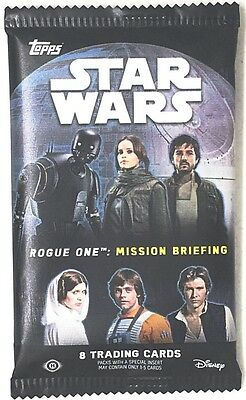 Star Wars Rogue One: Mission Briefing Hobby Pack (Topps 2016)