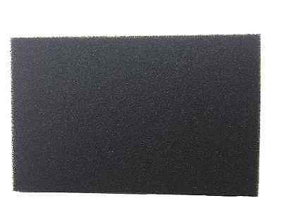 "ACTIVATED CARBON IMPREGNATED FOAM FILTER SHEET - 12mm THICK 18"" x 12"" AQUARIUM"