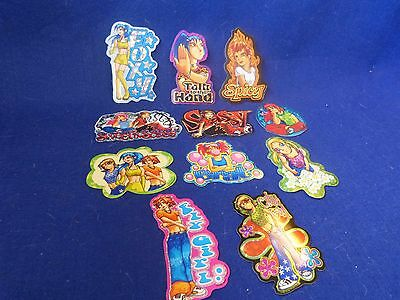 "Vintage Vending Machine Stickers ""SWEET & SASSY""   1999"