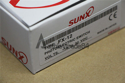 1Pcs NEW SUNX Fiber Optic Amplifier FX-12 FX-12