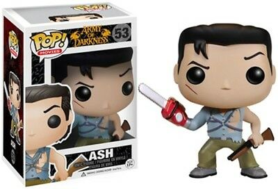 Funko Pop! Movies: Army Of Darkness- Ash [New Toy] Vinyl Figure