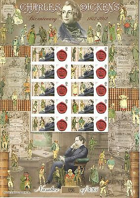 BC-365 2012 Charles Dickens History of Britain 83 Business Smilers Sheet