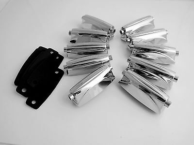 10 Double End Tom / Snare Drum Lugs without Mounting Screws